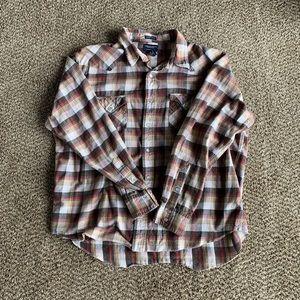 Other - Men's American Eagle Vintage Slim Fit Flannel